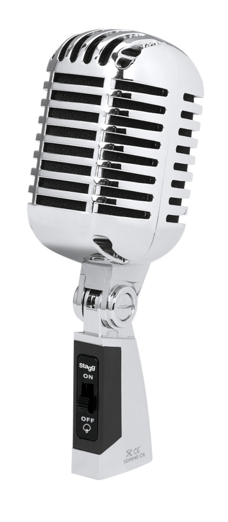 Multipurpose 50s style cardioid dynamic microphone