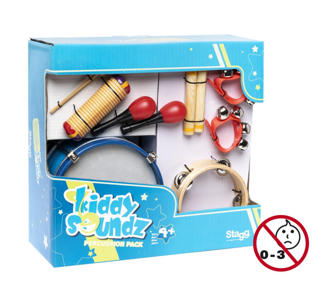 """Pack de percussion pour enfants """"Kiddy Soundz"""""""