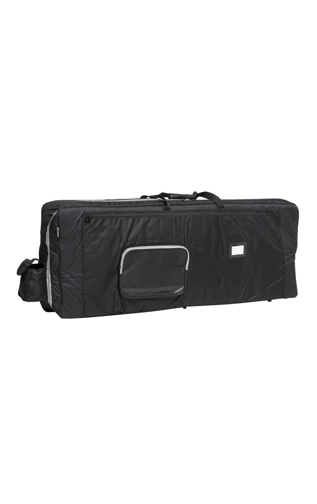 Extra deep Deluxe black nylon keyboard bag