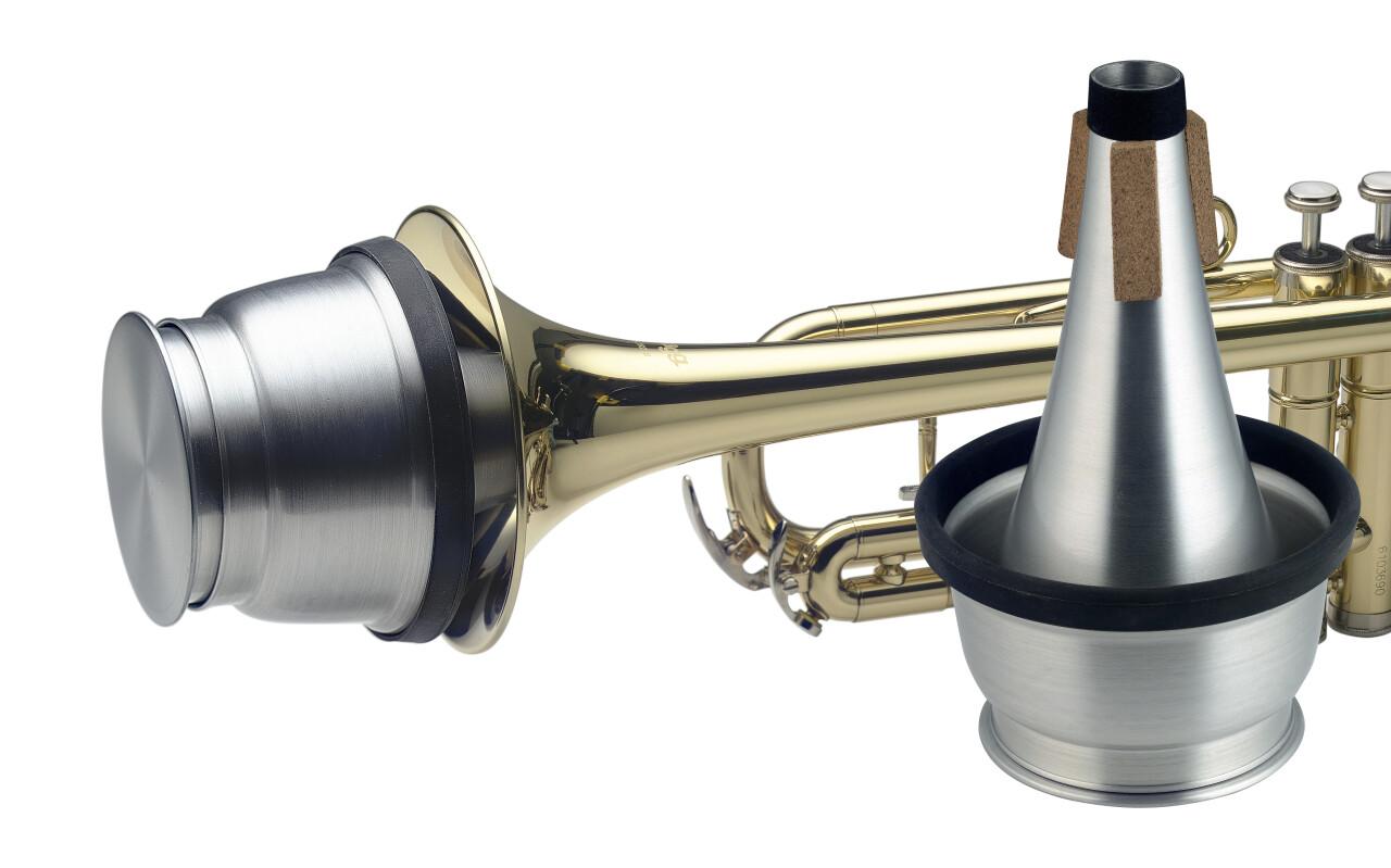 Dämpfer, Kesselform, für Trompete