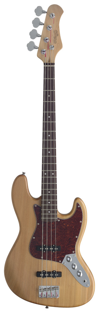 "Standard ""J"" electric bass guitar"