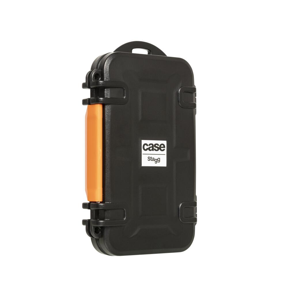 Mini caisse de transport en résine plastique pour carte mémoire, imperméable et antichoc