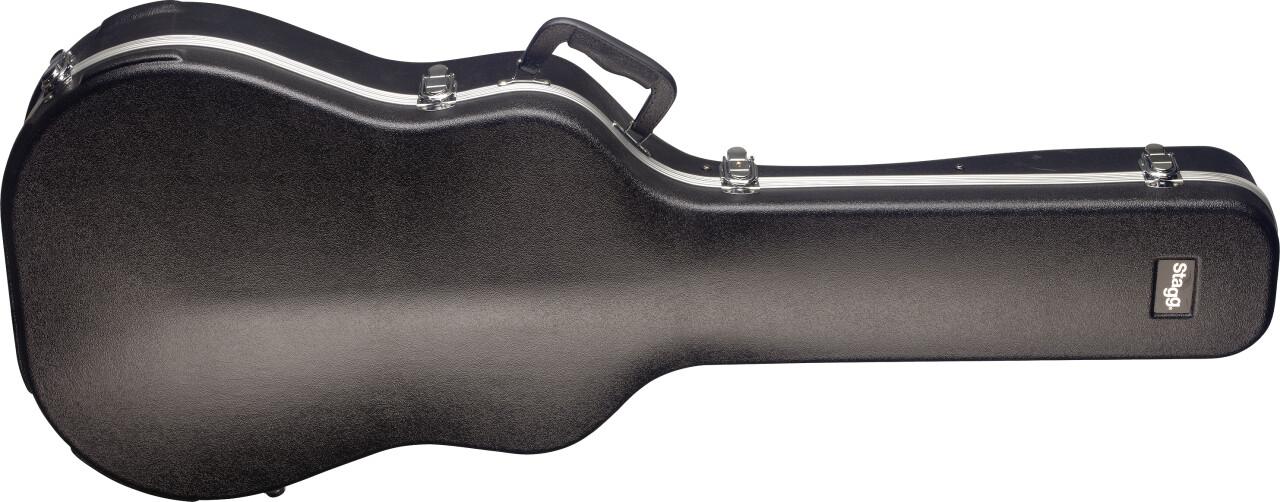 Basic series lightweight ABS hardshell case for western / dreadnought guitar
