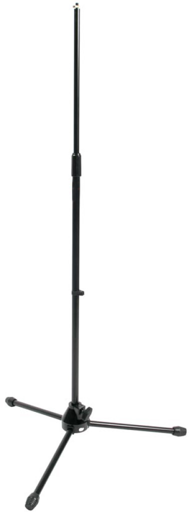 Microphone floor stand w/folding legs, heavy model