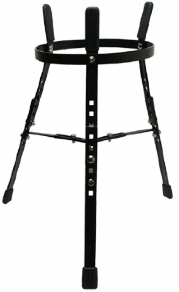 "Basket style stand for single 11"" Conga"