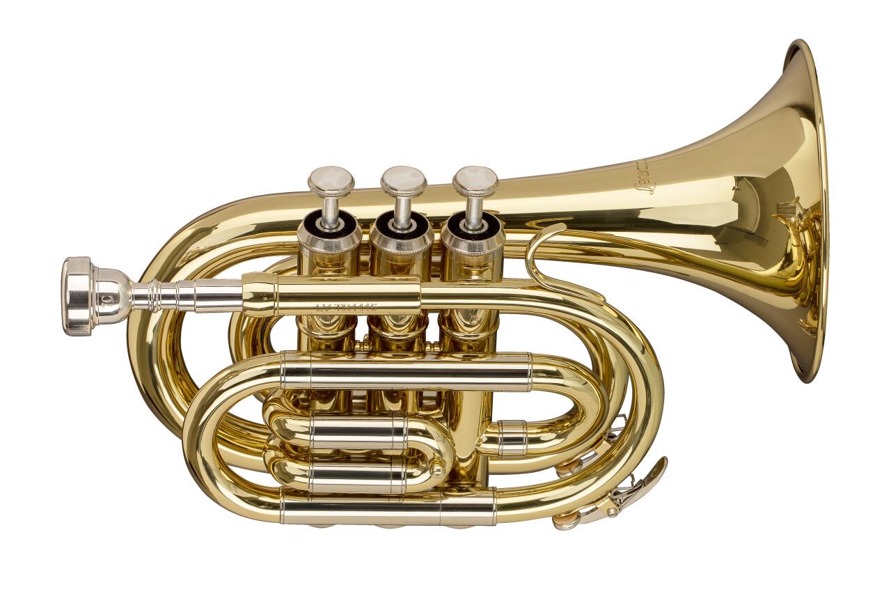 Bb Pocket Trumpet, w/regular Bb Trumpet bell