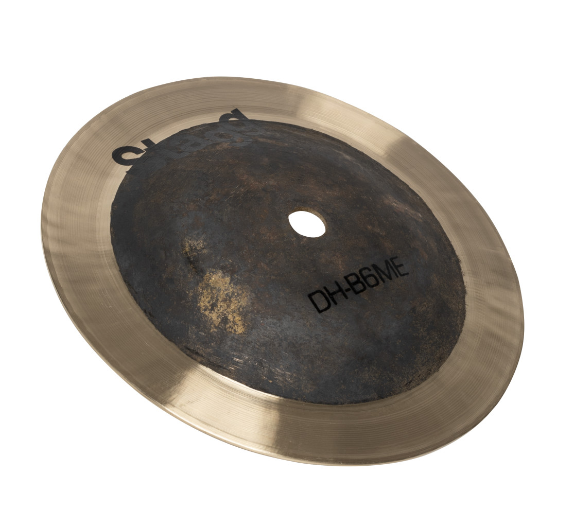 "6"" dual hammered bell, medium, Exo series"