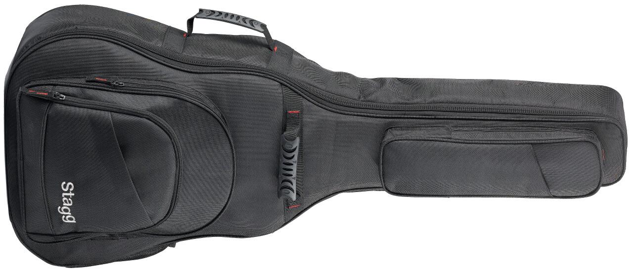 Housse rembourrée en nylon balistique pour guitare western, série Ndura