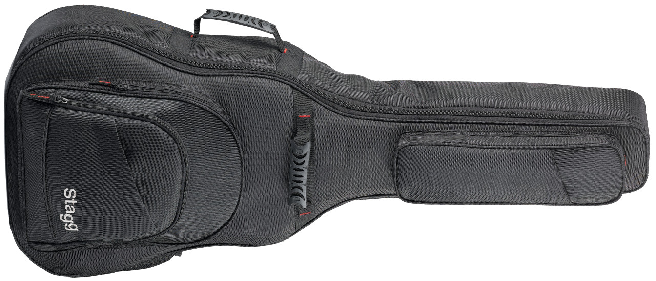 Ndura series padded ballistic nylon bag for western guitar