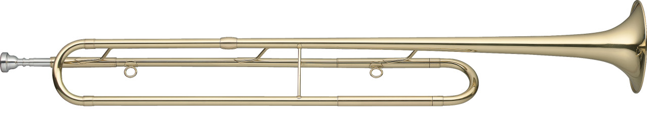 Eb Fanfare Trumpet, body in brass