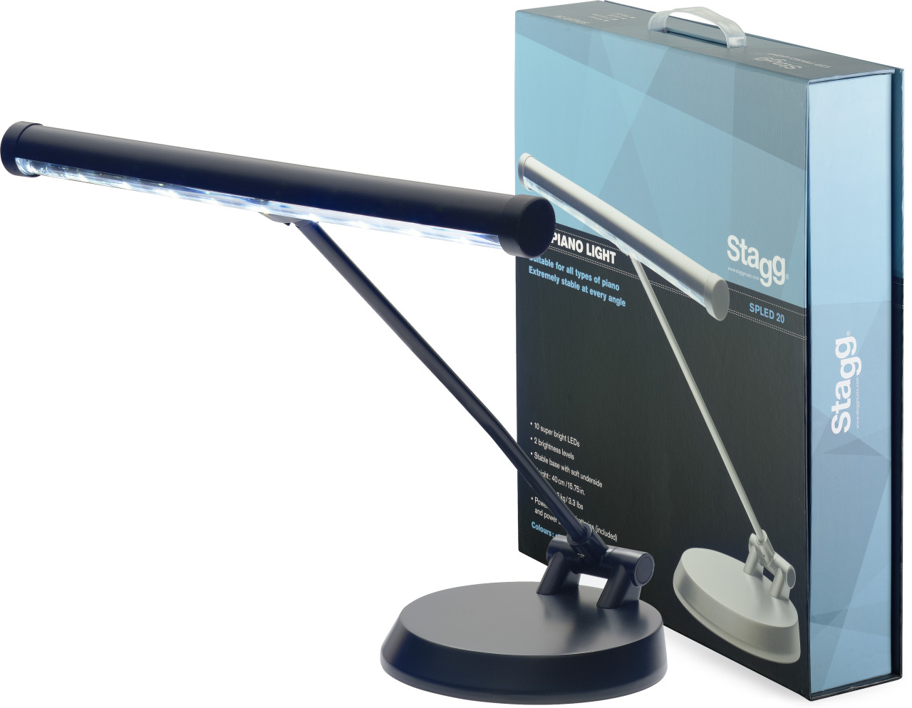US LED KLAVIER/DESKTOP-LAMPE