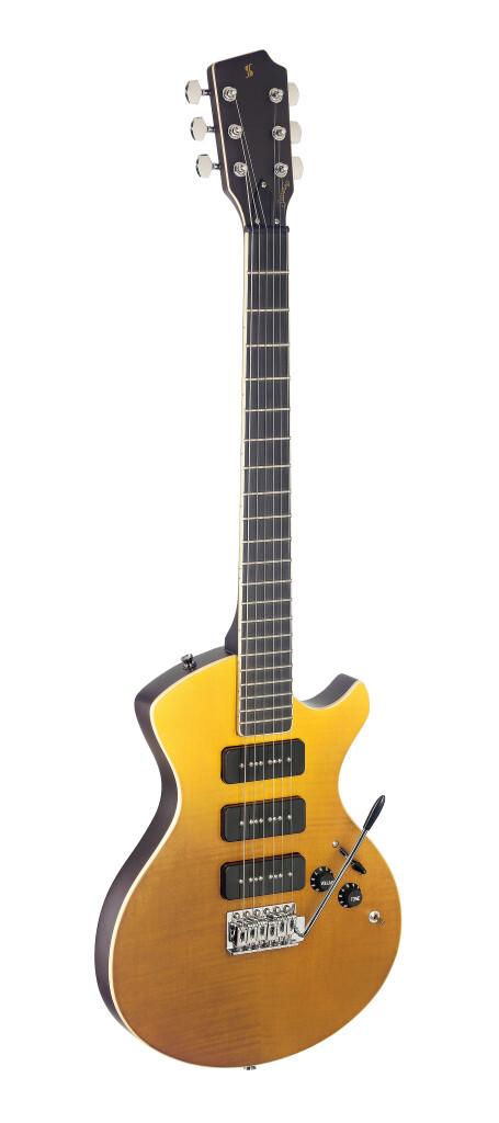 Guitare électrique, série Silveray, modèle Nash Deluxe, avec corps en aulne massif