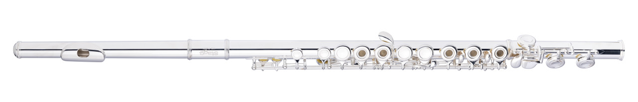 C Flute, open holes, in-line G