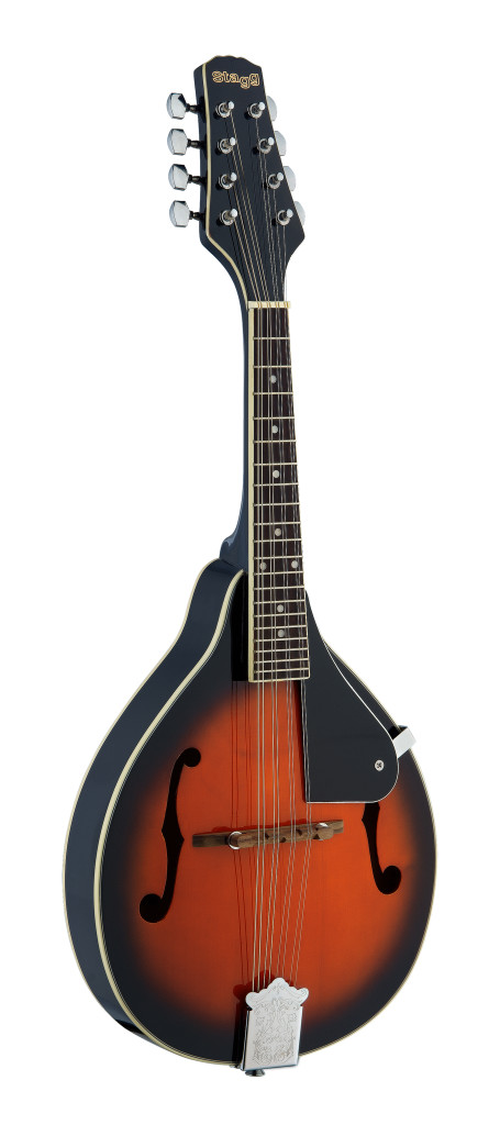 Bluegrass Mandolin with solid Spruce top