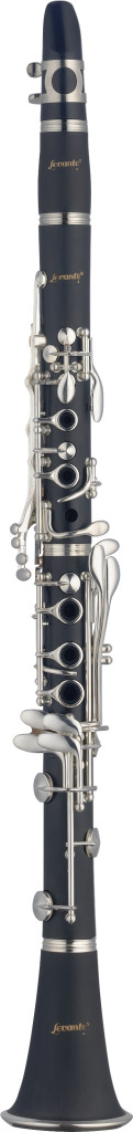 Bb Clarinet, ABS body, Boehm system, silver plated