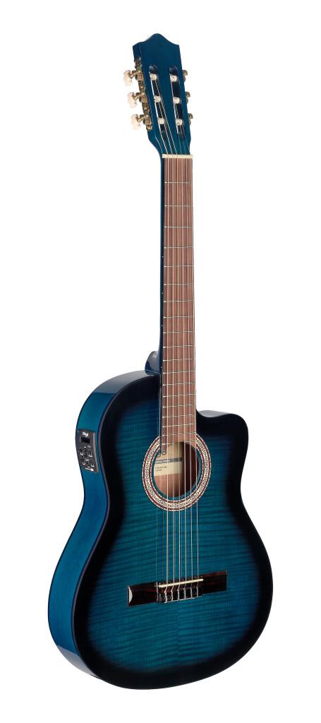 Guitare électro/acoustique classique cutaway avec EQ à 4 bandes