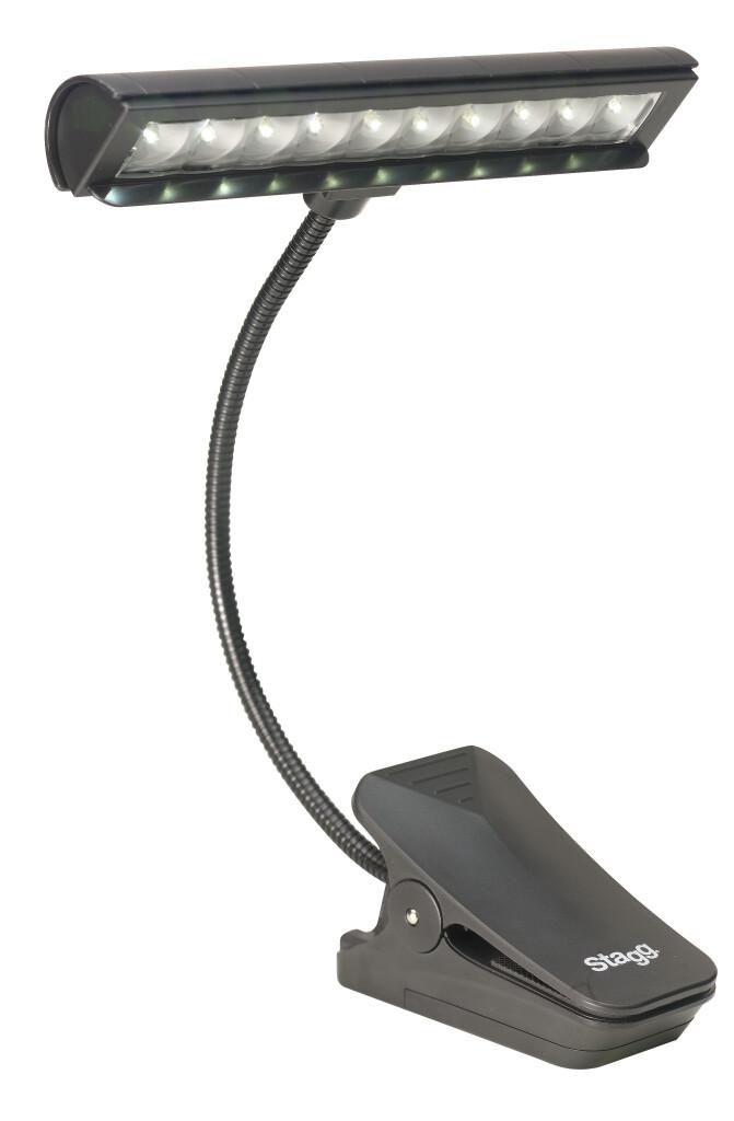Lampe LED multifonction à pince, à poser ou à fixer