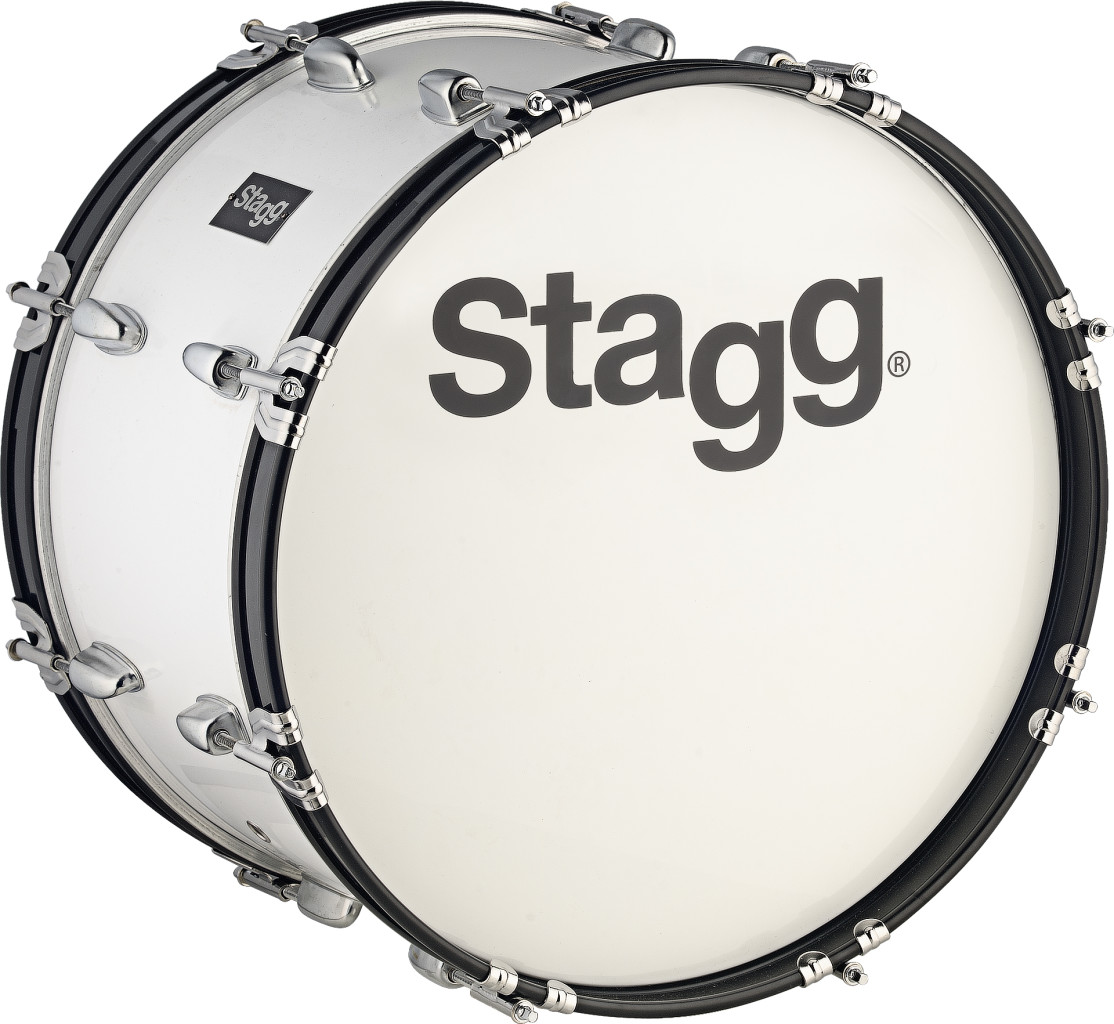 """20"""" x 12"""" Marching Bass Drum with strap & beater"""