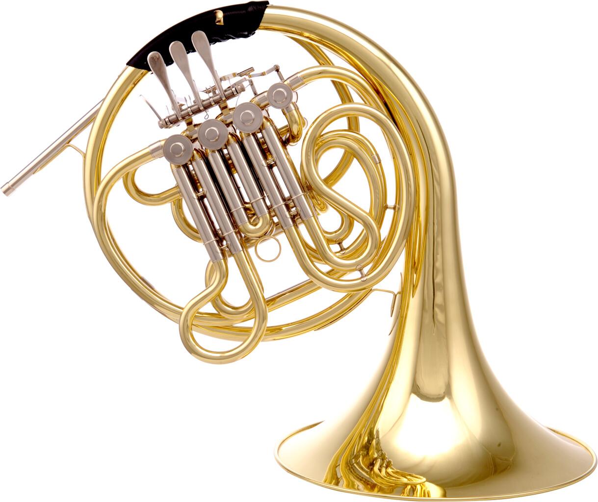 Cor d'harmonie double compensé Fa/Sib, avec lightcase