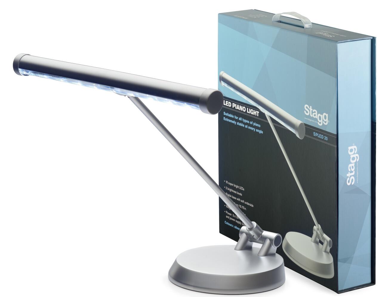 UK LED KLAVIER/DESKTOP-LAMPE