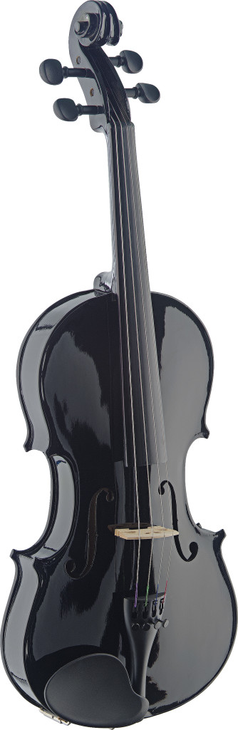 4/4 Solid Maple Violin with standard-shaped soft-case
