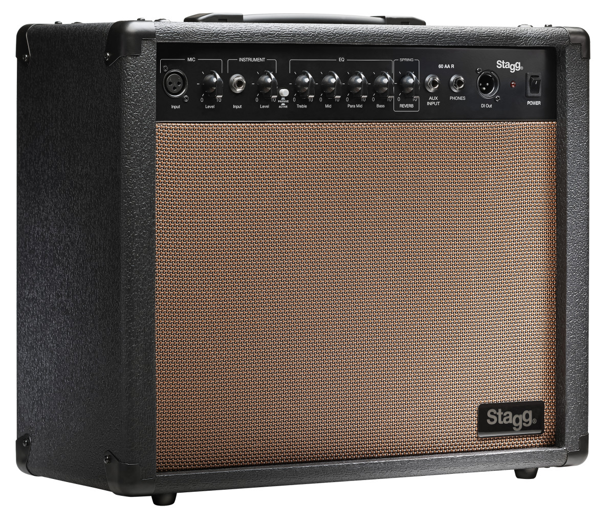 60-watt spring reverb acoustic amplifier