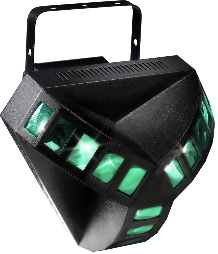 High output LED lighting effect with revolutionary RGB colour LED system