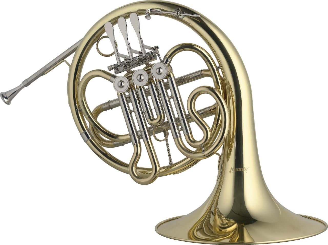 Cor d'harmonie pour jeune en Sib, 3 palettes, branche d'embouchure en cuivre rose