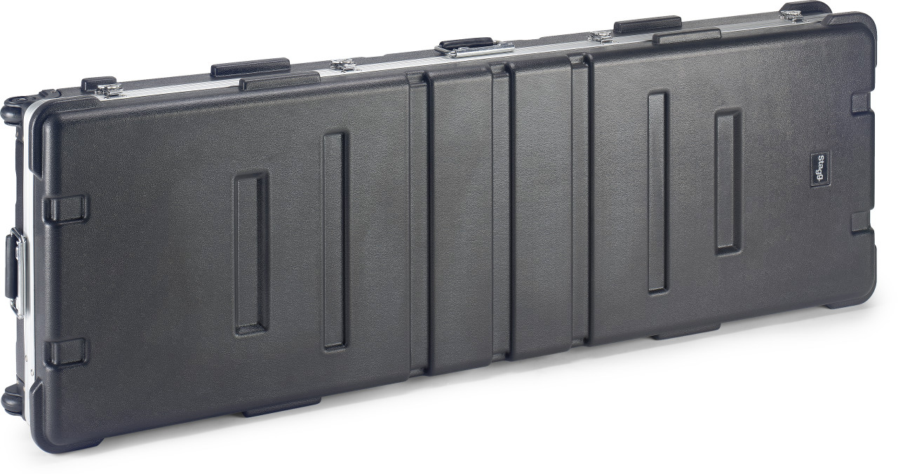 Standard ABS case for keyboard with wheels