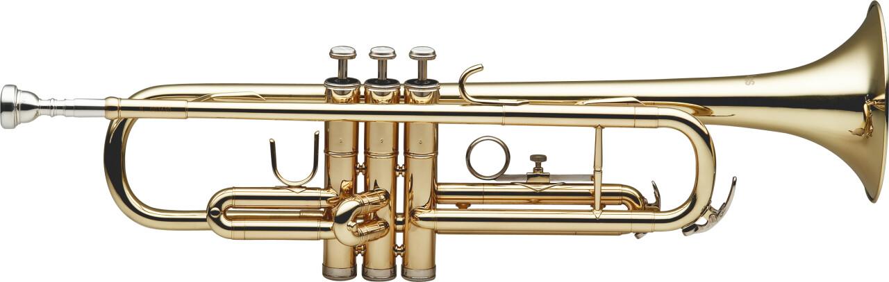 Bb Trompete, ML-Bohrung, Messing-Korpus