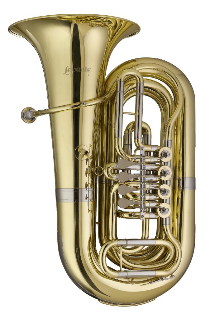Bb Bastuba, 4 draaiventielen, compact