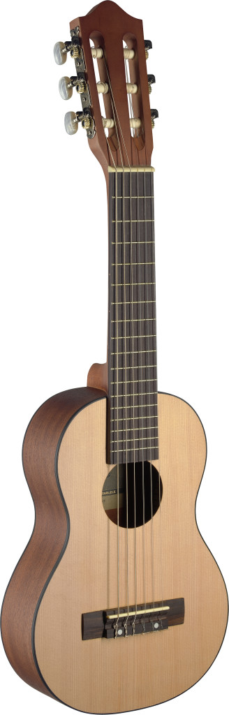 Ukulele-size classical guitar with spruce top