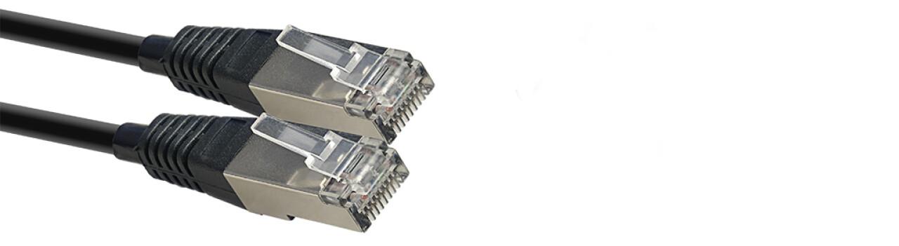 N series CAT6 SFTP network cable, RJ45/RJ45 (m/m), 3 m (10')