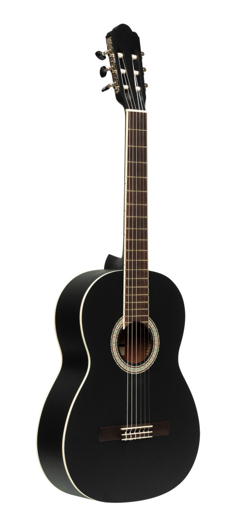 Guitare classique SCL70 avec table en épicéa, de couleur noire