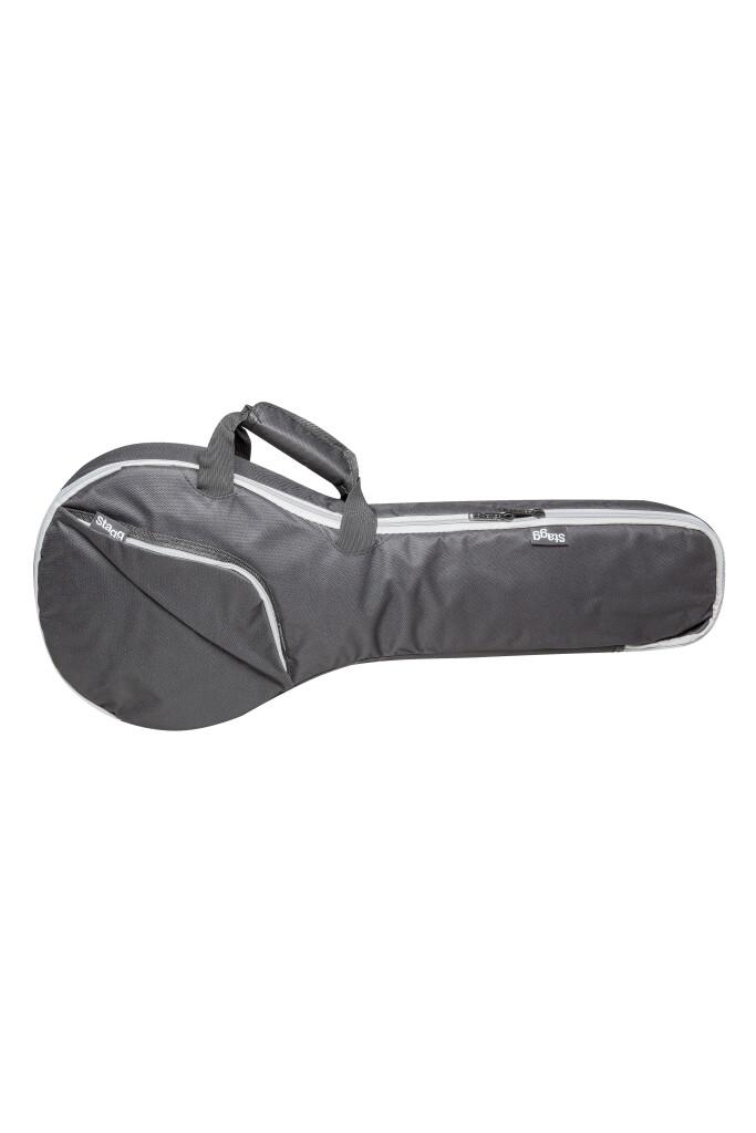 Basic series padded water repellent nylon bag for mandolin
