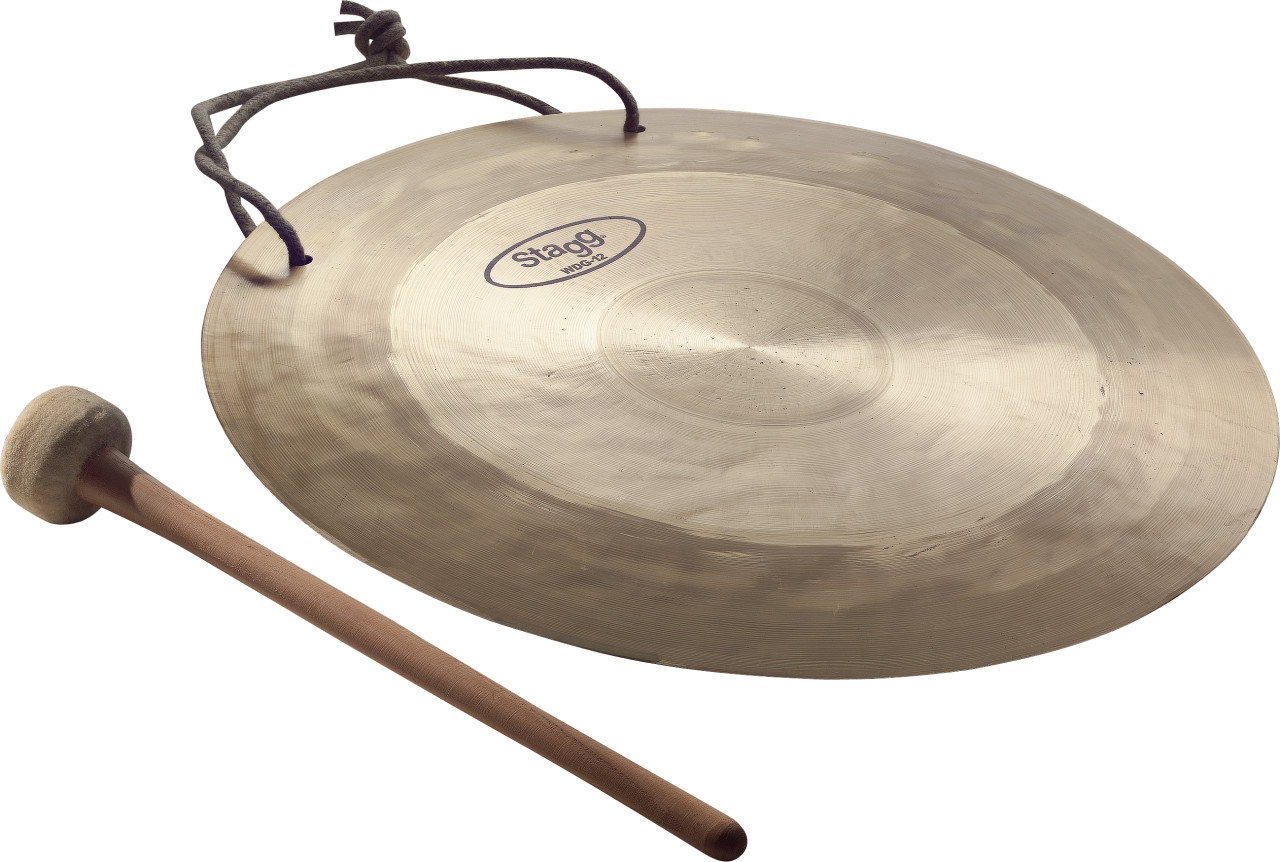 """12"""" Wind Gong with beater"""