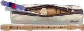 Alto recorder, Baroque fingering, Maple wood
