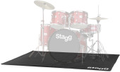 Professional drum carpet with carry bag