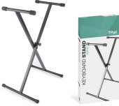 Single Braced X-Style Keyboard Stand - Welded