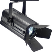 200-watt wash spotlight, warm light, black metal case (Wash 200)