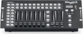 16-fixture DMX light controller with 14 channels per fixture