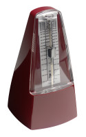 Traditional, mechanical metronome with bell