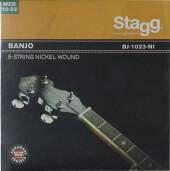 Set of nickel strings for 5-string banjo