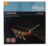 Nylon/silver plated wound set of strings for Classical guitar
