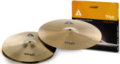 Copper-steel alloy Innovation cymbal set