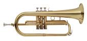 Bb Flugelhorn, M-bore, Brass body material