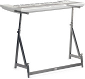 Adjustable mixer/keyboard stand