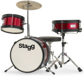 3-pc JUNIOR 12 drum set with hardware