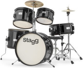 5-pc JUNIOR 16 drum set with hardware