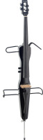 4/4 electric cello with gigbag, black